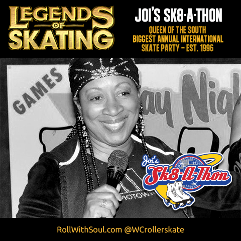 legends of skating roller skater Joi's Skate-a-thon Atlanta Skate Jam